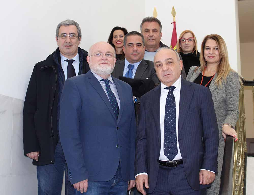 Albacete- Reunión con Delegación sarda 1