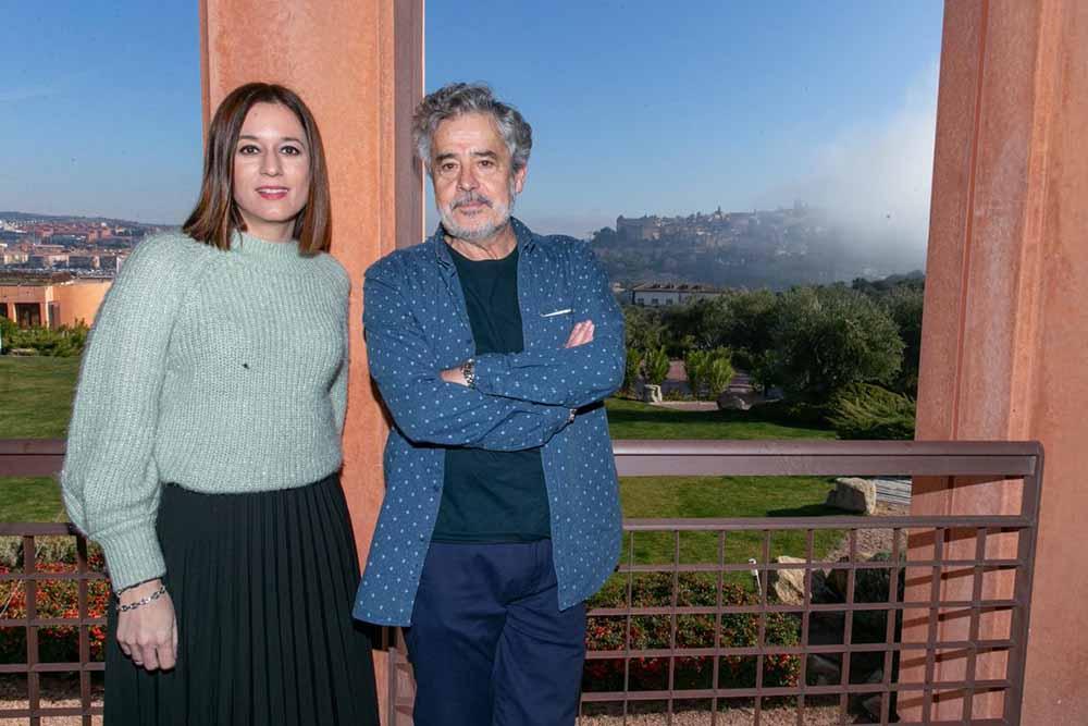 Ana Isabel Samper y Carlos Iglesias