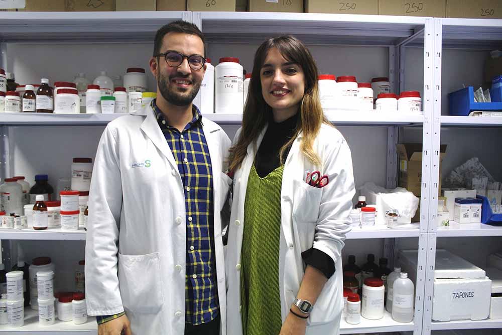 Angel Yuste e Ines Mendoza resid Farma