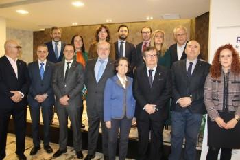Blanca Fernández, asiste a la Rueda Solidaria organizada por el Club Rotario