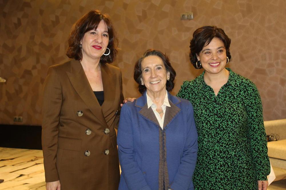 Blanca Fernández, asiste a la Rueda Solidaria organizada por el Club Rotario 1