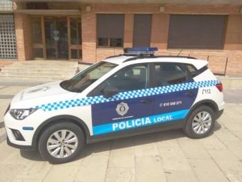 IMAGEN DE COCHE POLICIAL TORRALBA