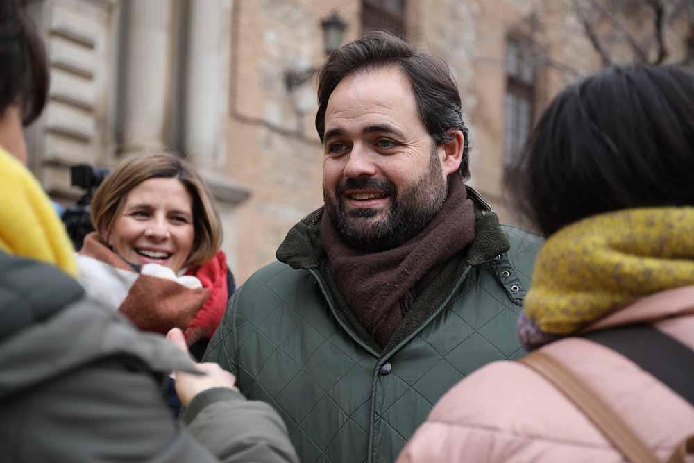 Núñez, concentración en repulsa violencia machista en Toledo