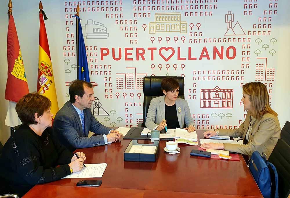 Puertollano reunión Rodriguez Maestre