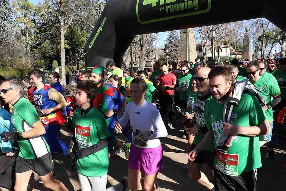 Sigüenza San Silvestre Los atletas se ponen en marcha