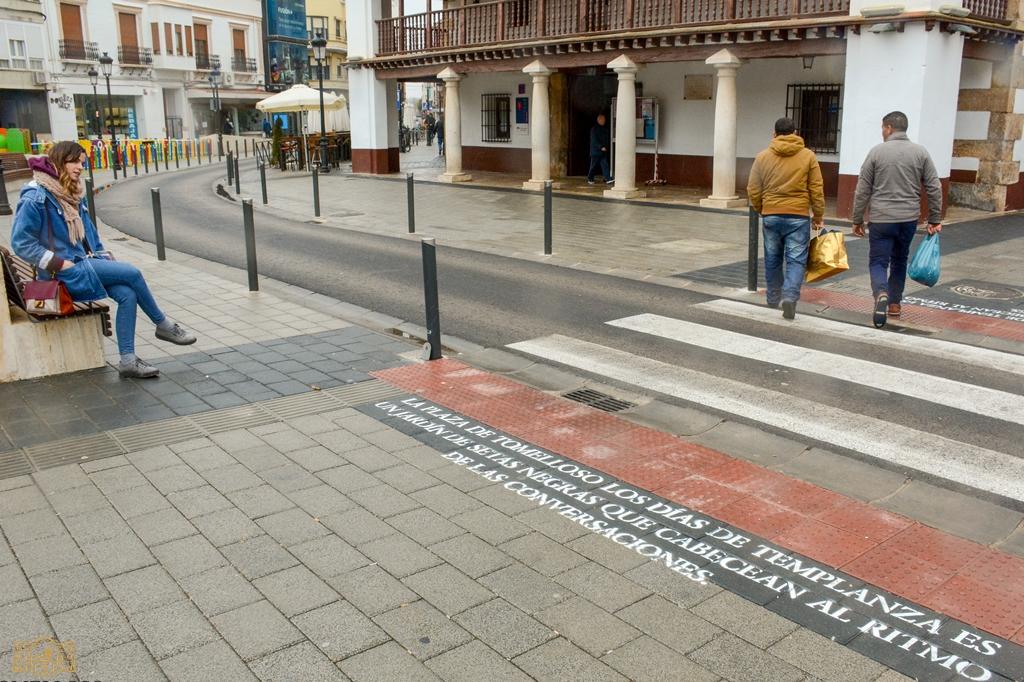 Tomelloso pasos peatonales
