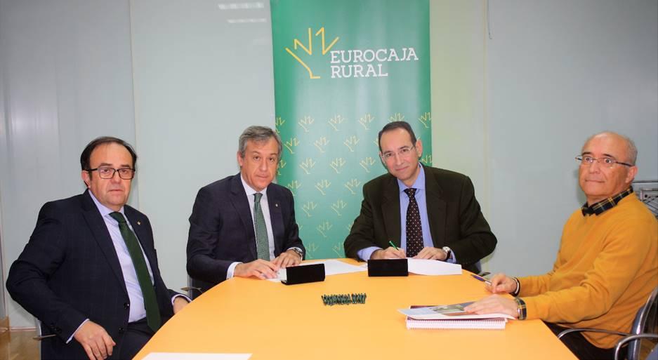 firma con Eurocaja Rural