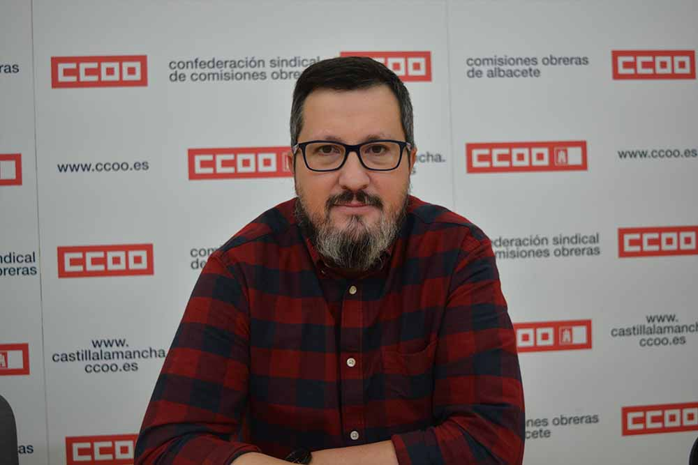 Alberto Jiménez CCOO Centro I. F. P. de Aguas Nuevas