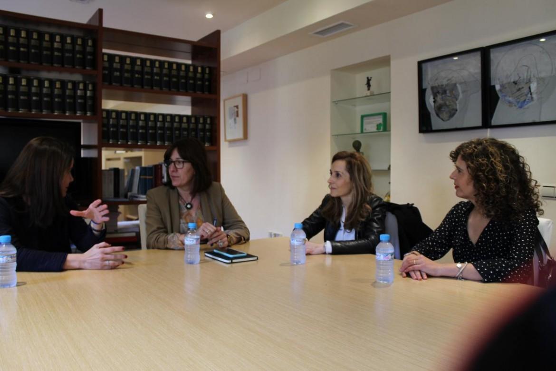 Blanca Fernández, ha mantenido un encuentro