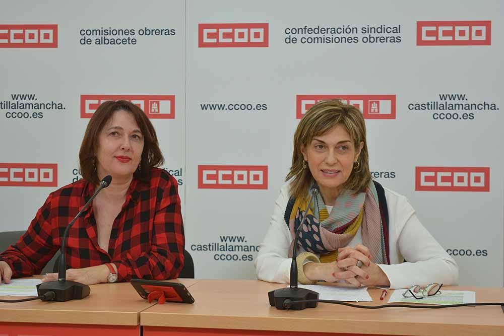 CCOO Albacete el valor de los cuidados es invisible en el PIB