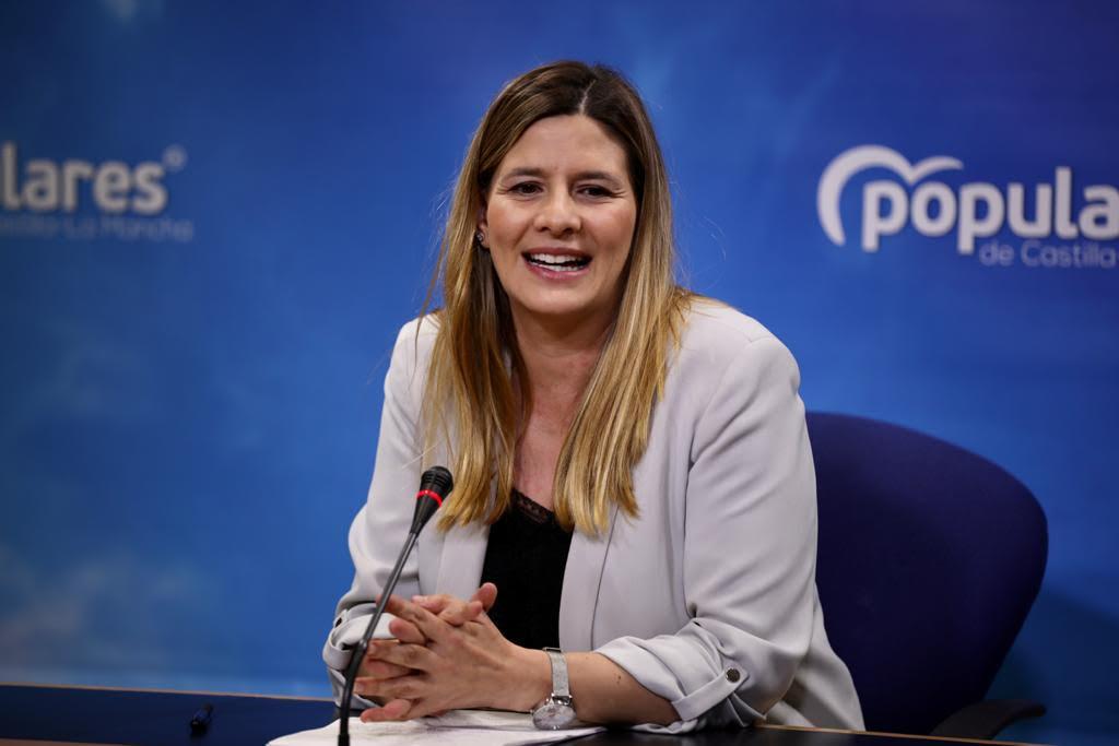 Carolina Agudo, en Rueda de Prensa