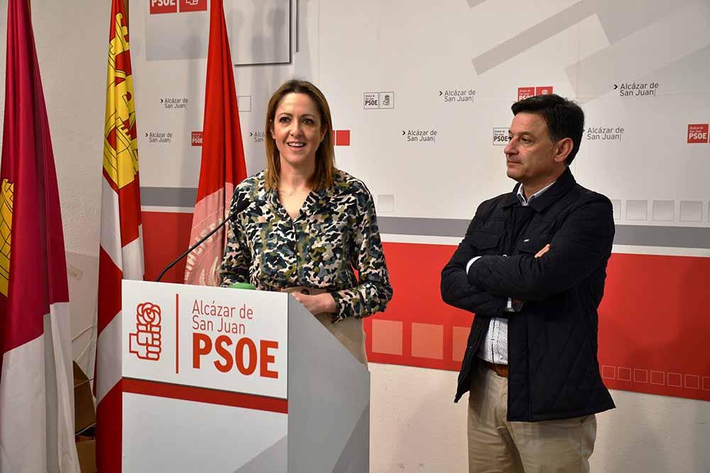 Cristina Maestre y Julián Morcillo