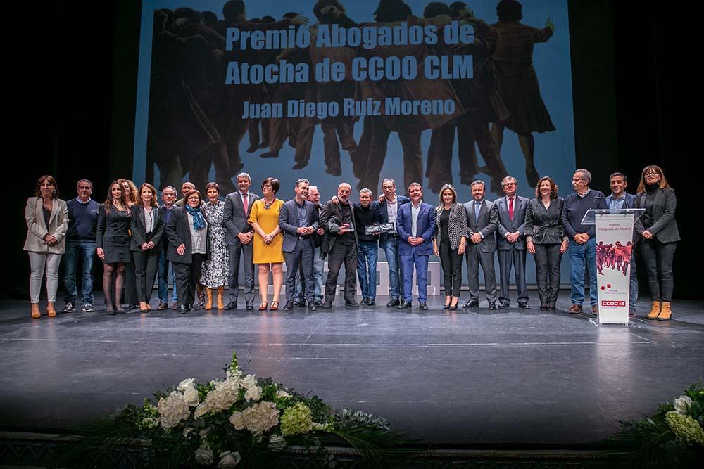 Emiliano García-Page premios abogados de Atocha6