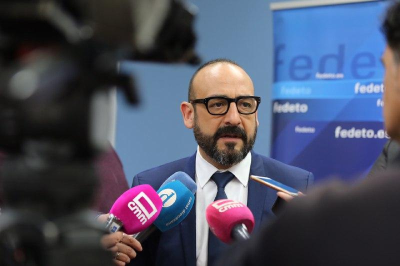 Jordi Cañas atención a medios