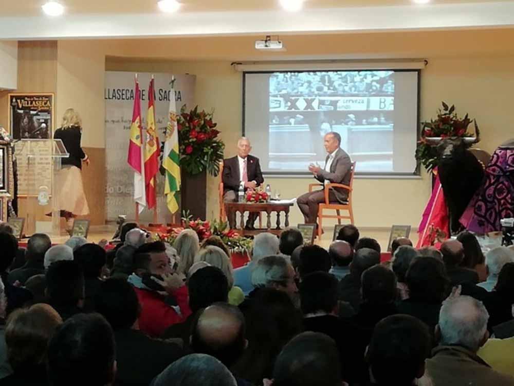 Paco Camino en las pasadas XIX-Jornadas-Taurinas-de-Villaseca 2019