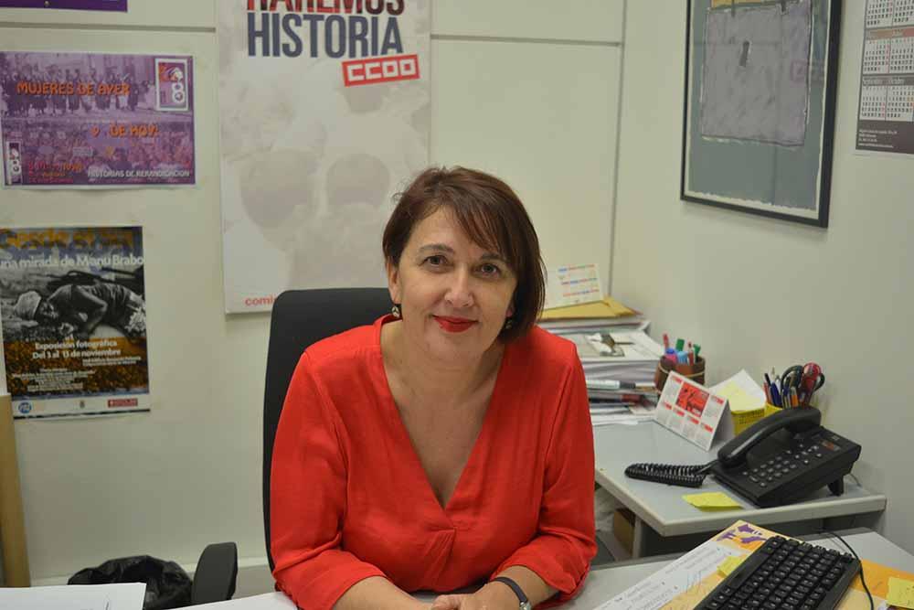 Paqui Jiménez Secretaria empleo y formación CCOO AB