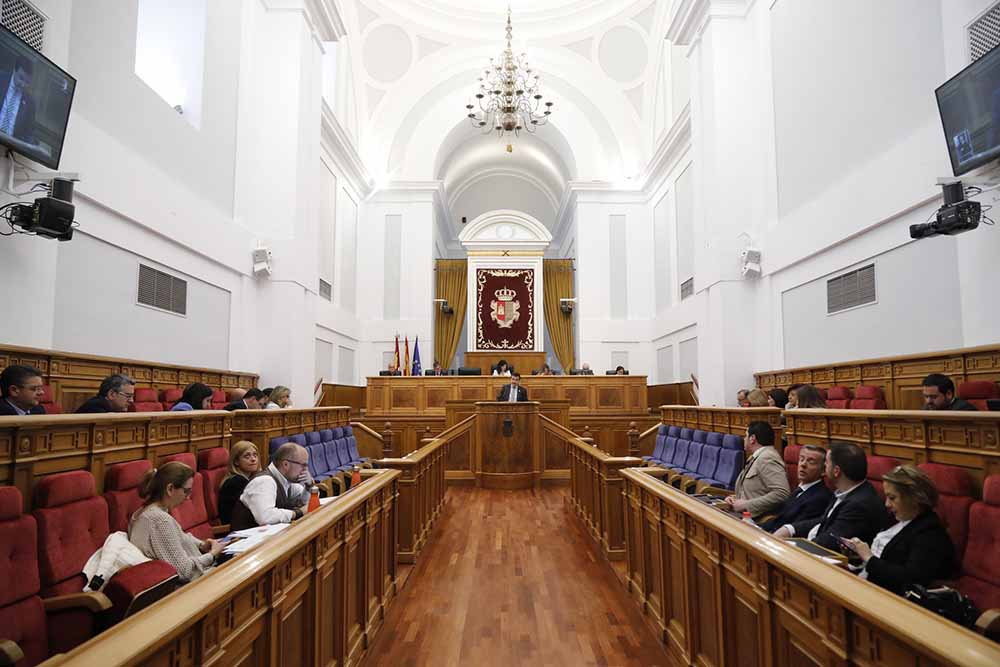Pleno de la Cortes Regionales