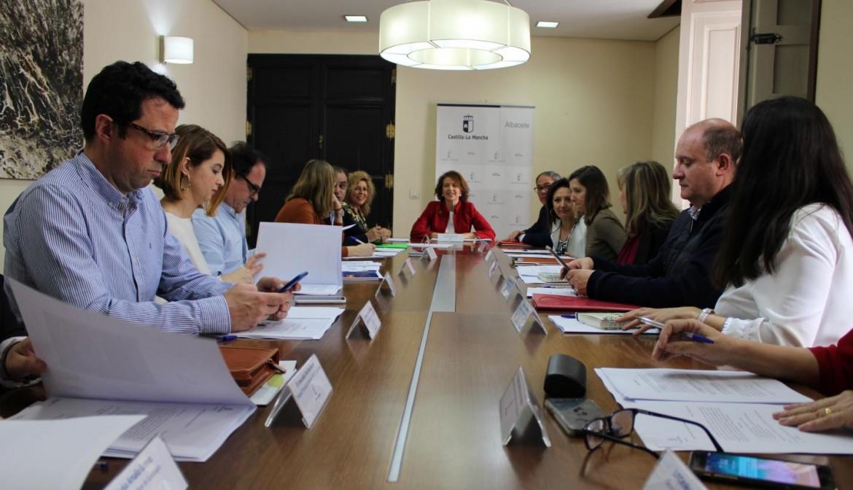 Aurelia Sánchez reunión