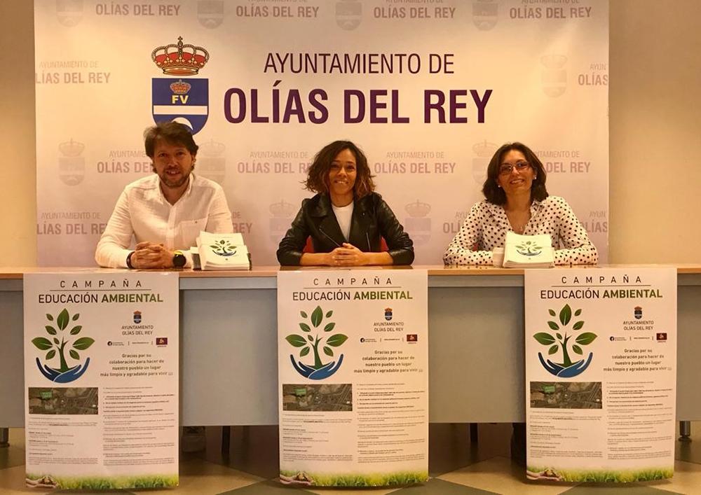 Ayto Olías Rey foto campaña educación ambiental 01032020