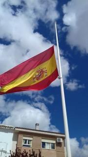 Bandera en Villafranca