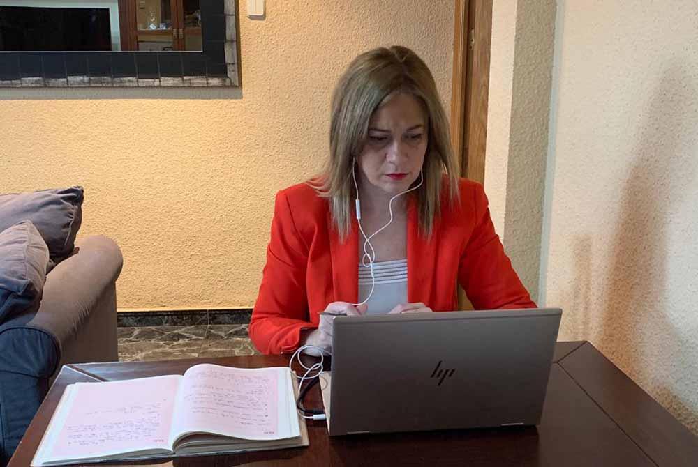 Carmen Picazo Videoconferencia