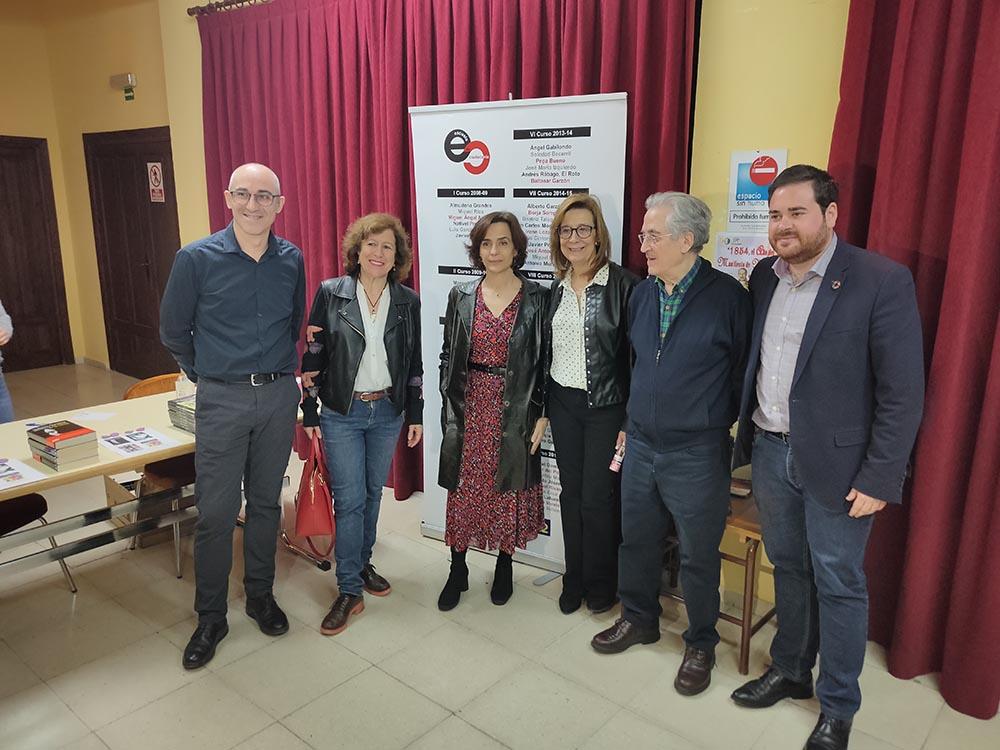 Con miembros EC y autoridades