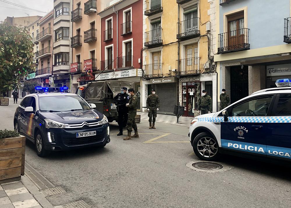 Cuenca policía local