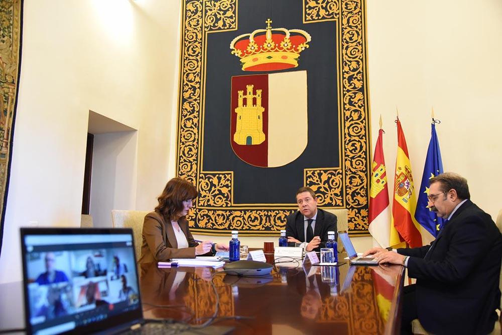 Fernáqndez, García-Page y Fernández Sanz