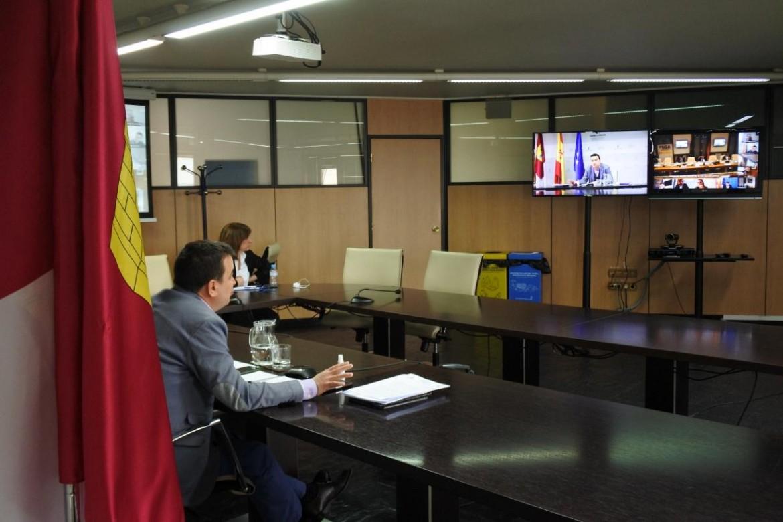 Francisco Martínez Arroyo en videoconferencia