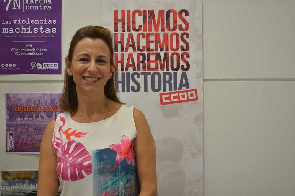 Gloria Lozoya Auñon Secretaria Mujeres e Igualdad CCOO Albacete