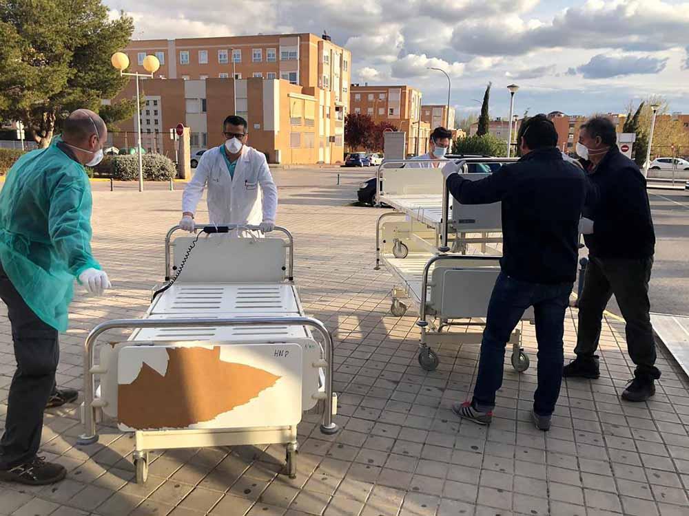 Hospital General Mancha Centro incluye nuevas medidas en su Plan de Contingencia