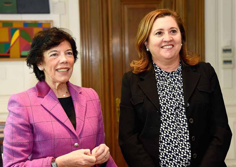 Mª Isabel Celaá y R Ana Rodríguez