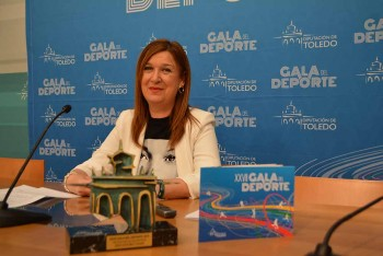 María Jesús Pérez presenta la XXVII Gala del Deporte (1) 02032020
