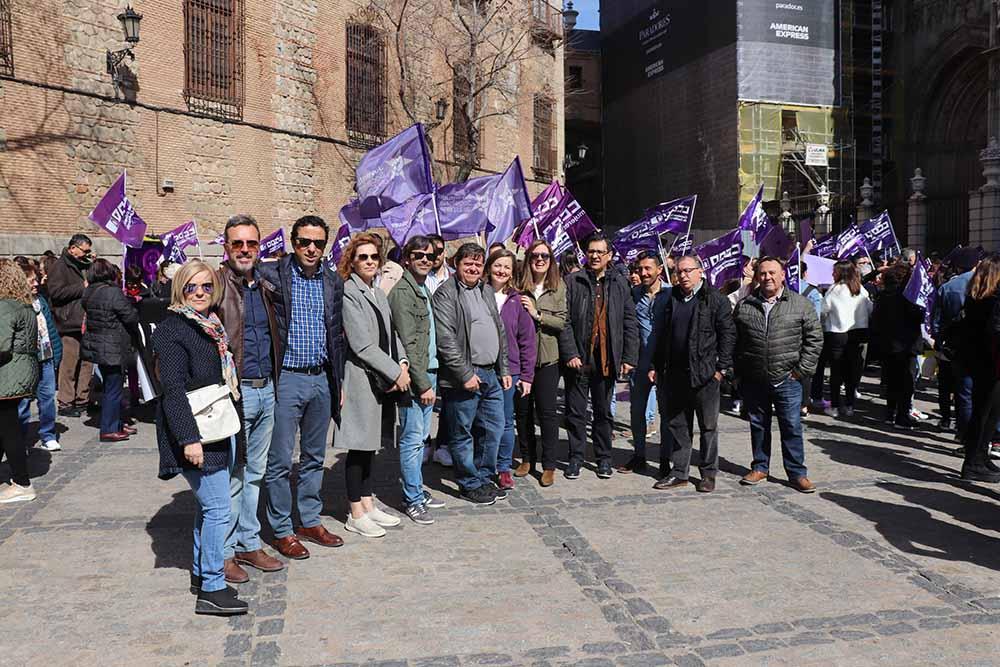 PSOEManifestación8M,