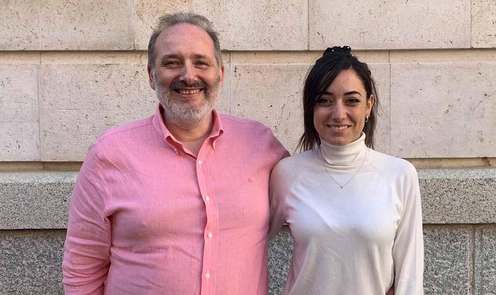 Raúl Piedra y Paula Sánchez-Seco