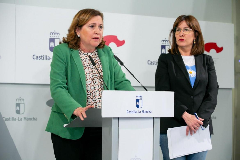 Rosa Ana Rodriguez y Blanca Fernández