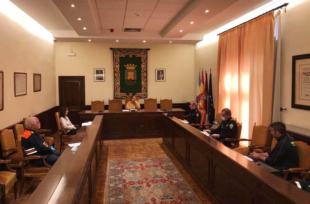 Talavera junta coordinación y seguridad covid