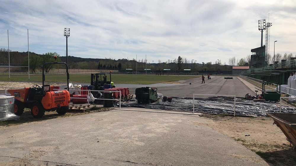 Talavera retoman obras pista atletismo1