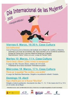 Villarrubia Programa Día Mujer