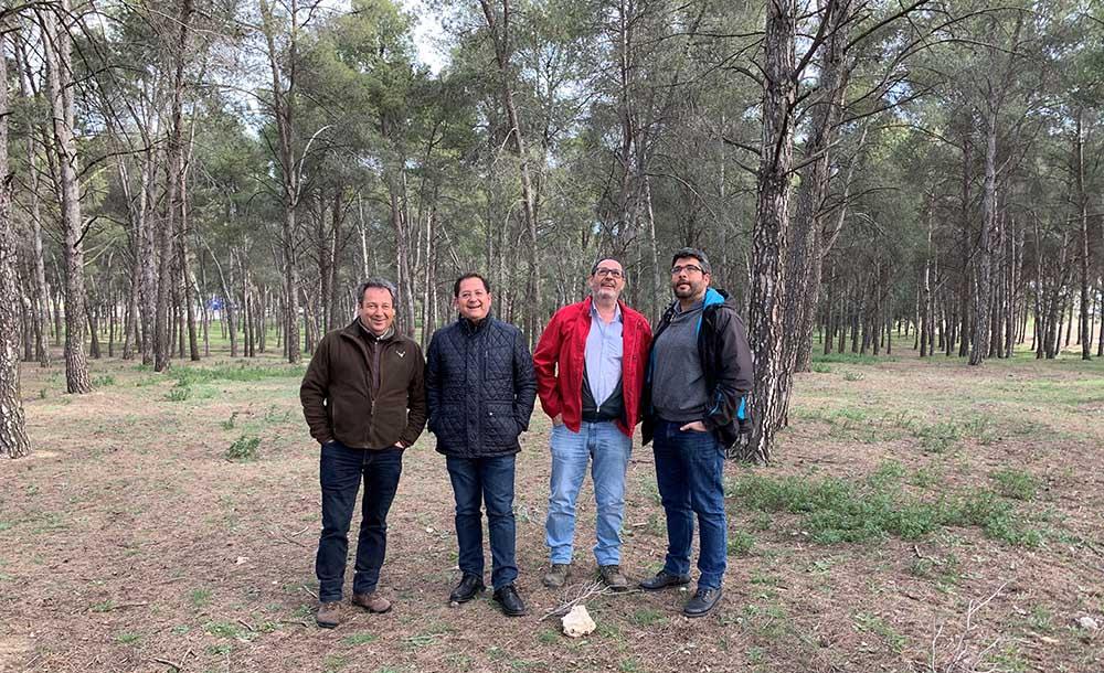 Visita montes públicos en municipio de Yuncler