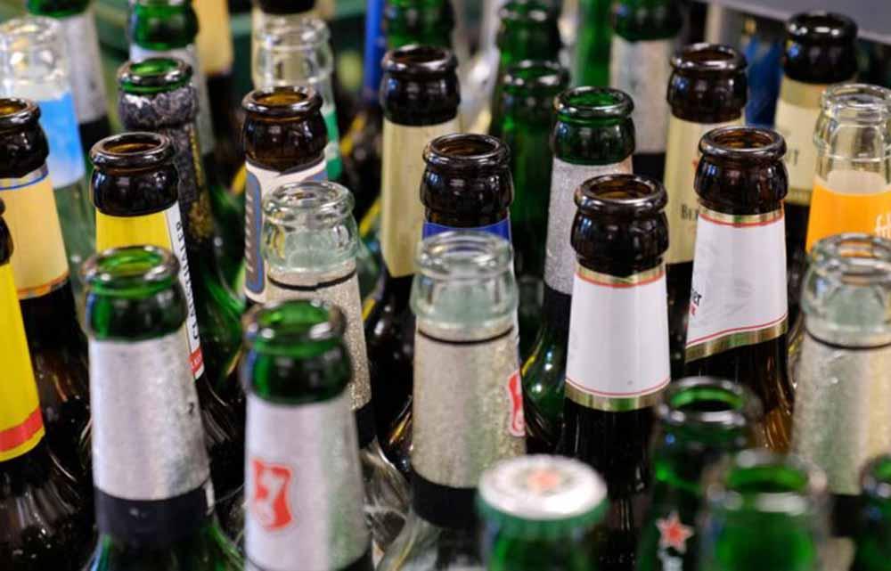 Botellas vidrio-