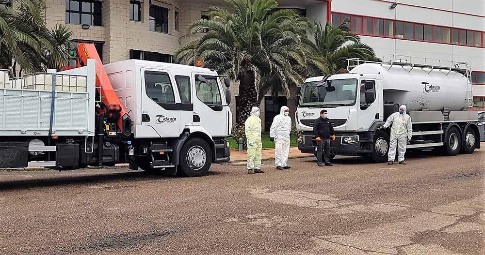Camiones Talauto desinfección Covid-19 07042020