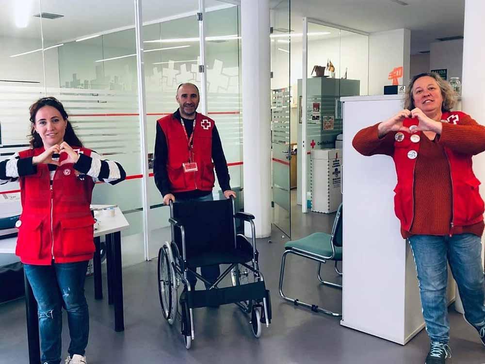 Cruz Roja sanidad