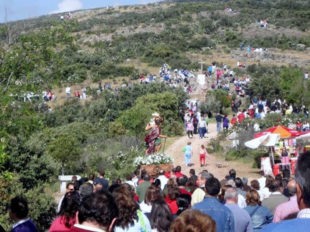 Villarrubia romeria cruz de mayo