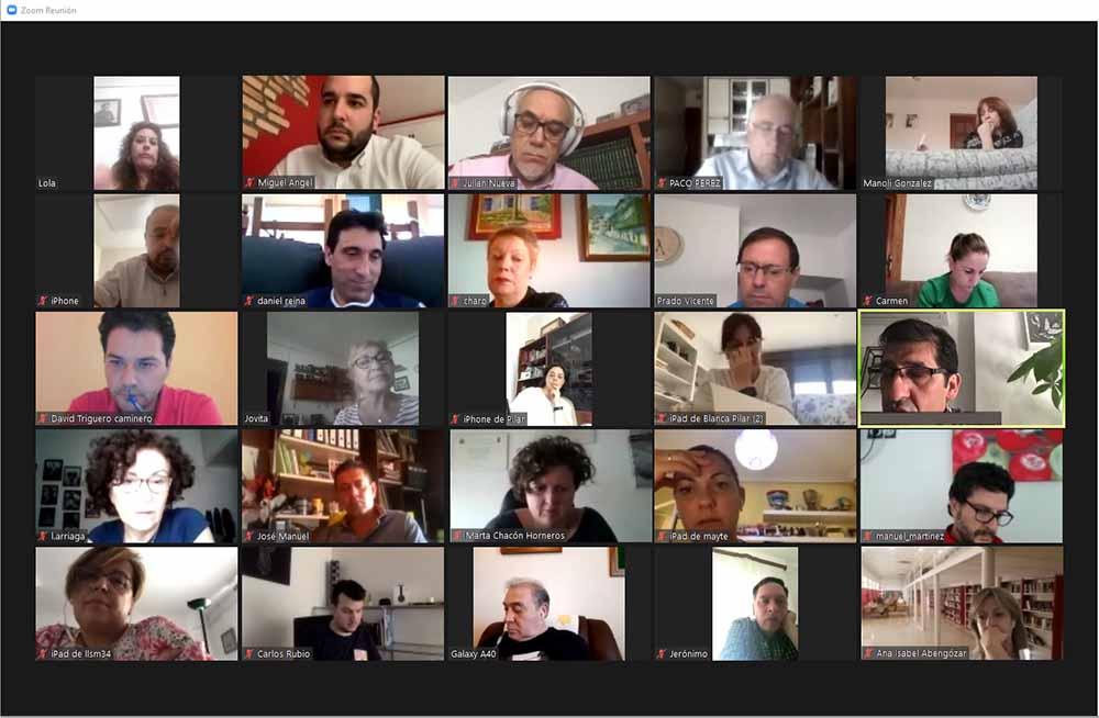 Imagen de un momento de la reunion Ejecutiva
