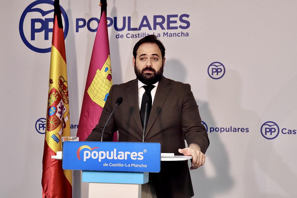 Paco Núñez, en rueda de prensa