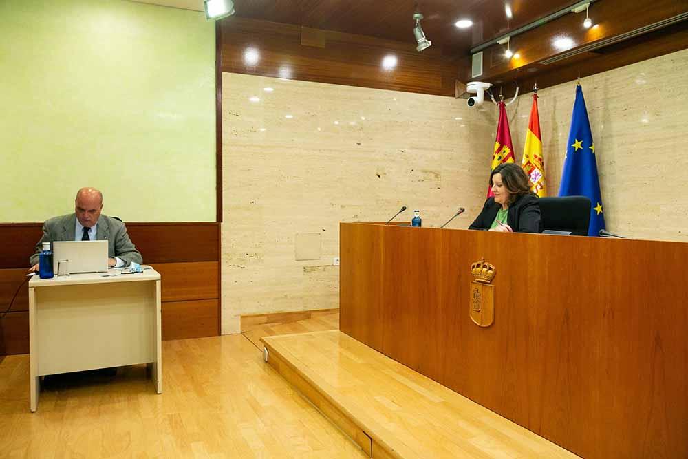 Patricia Franco comision de las cortes
