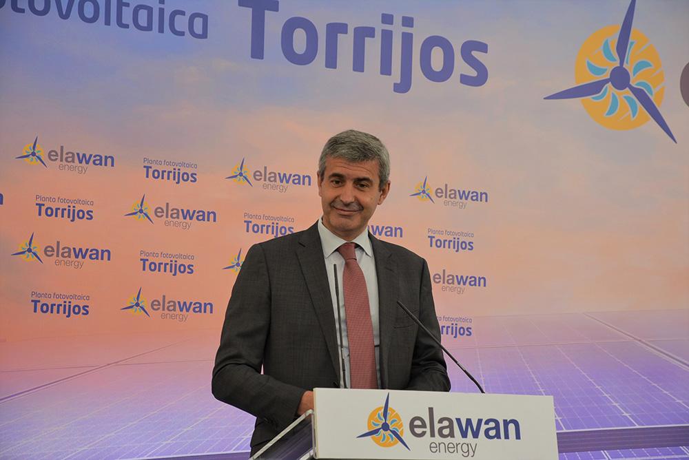 Álvaro Gutiérrez foto planta fotovoltaica Novés 24062020