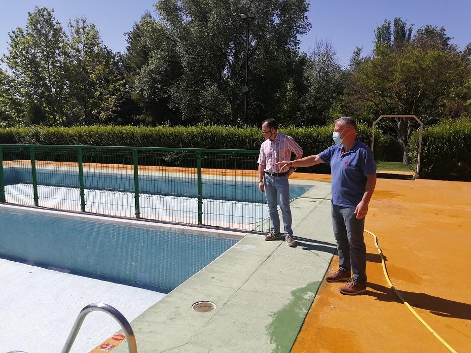 Herencia piscina