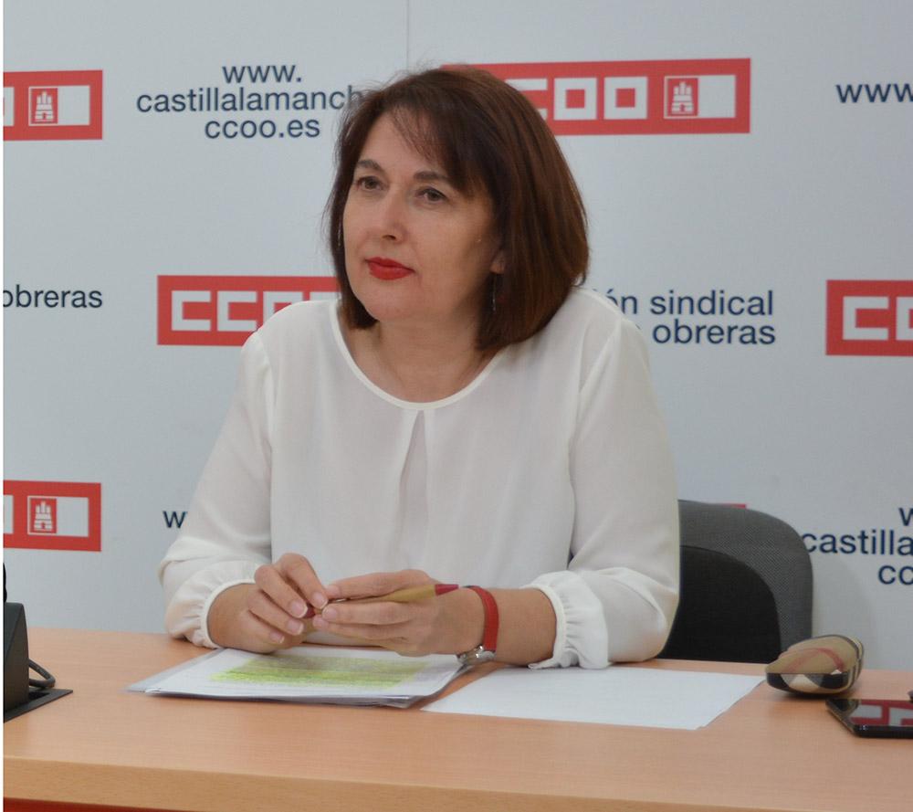 Paqui Jiménez secretaria provincial empleo y formacion CCOO Albacete
